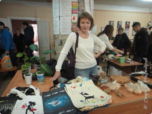 ..вот так я готовилась к школьной ярмарке. затащило меня в производство сумок-мешочков.. фото 14
