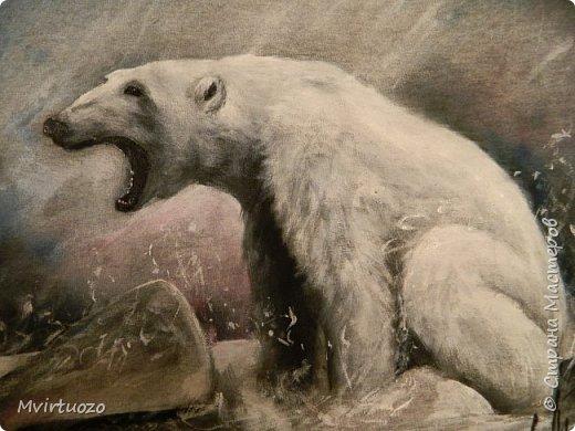 Добрый день!! и снова я с футболкой! Белый медведь!! фото 6