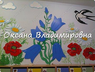 """Оформление приемной группы """"Дюймовочка"""" фото 3"""