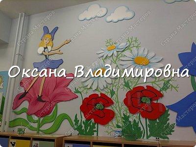 """Оформление приемной группы """"Дюймовочка"""" фото 1"""