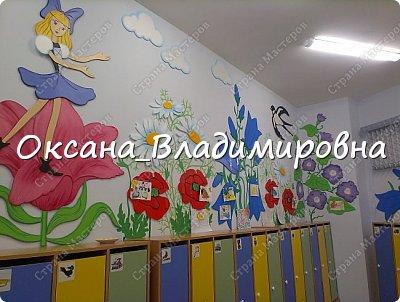 """Оформление приемной группы """"Дюймовочка"""" фото 7"""