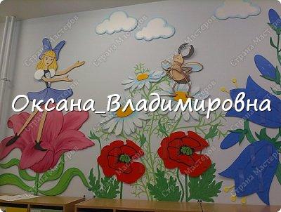 """Оформление приемной группы """"Дюймовочка"""" фото 9"""