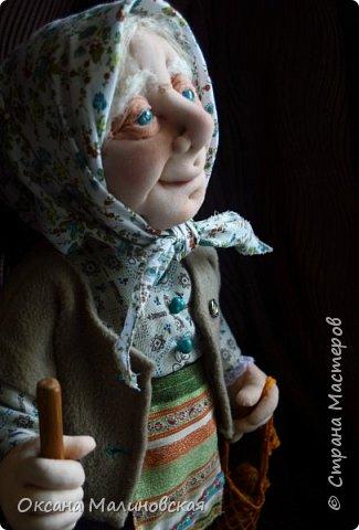Здравствуйте, жители Страны мастеров. Родилась у меня новая кукла. Назвала её баба Нюра. фото 1