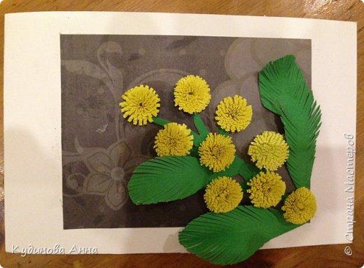"""Сыночек сказал: """"Давай займемся творчеством!"""" Вот """"натворили"""" такую открытку.))) фото 3"""