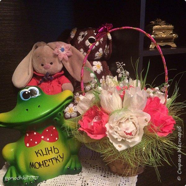 Всем жителя СМ доброго дня. Я сегодня к вам со своими проделками. Навязались игрушки с африканского цветка. Ох и затягивает)) Это мишка Снежка фото 10