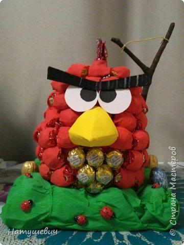 Такая замечательная сладкая птичка получилась. Вдохновила меня на ее создание мастерица http://stranamasterov.ru/node/706777?c=favorite фото 2