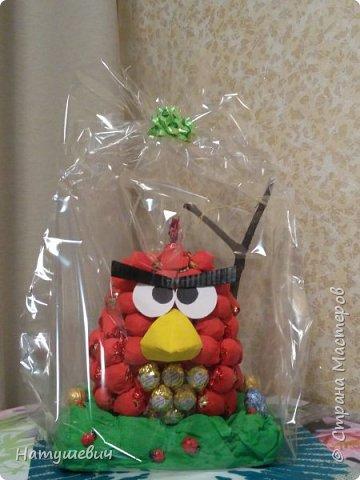 Такая замечательная сладкая птичка получилась. Вдохновила меня на ее создание мастерица http://stranamasterov.ru/node/706777?c=favorite фото 1
