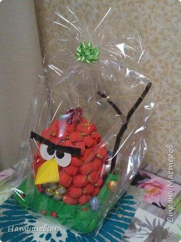 Такая замечательная сладкая птичка получилась. Вдохновила меня на ее создание мастерица http://stranamasterov.ru/node/706777?c=favorite фото 3