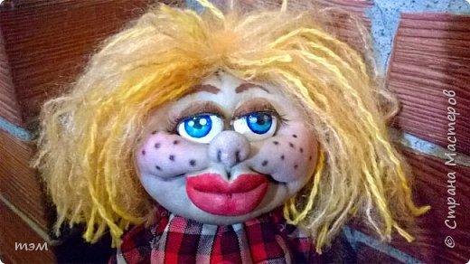 Продолжаю играть в куклы... Весьма интересное занятие. И полезное. Этот домовёнок скоро обзаведётся новым домом и хозяйкой, которая пишет очень светлые стихи. фото 3