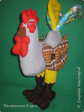 Носит важно петушок ярко-красный гребешок,                                                                                                                                   Раньше всех встает с утра, всем кричит-Вставать пора! фото 4