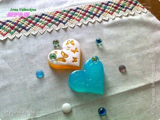 В составе мыла мёд натуральный и  масло облепихи!Аромат карамели!!!Мммм прелесть!  фото 2
