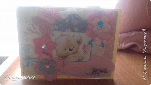 Эта открыточка уехала к Регининой дочке Саше фото 1