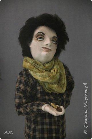 """Вчера в нашем Краеведческом музее открылась еще одна замечательная выставка  кукол, шаржи """"Фильм, фильм, фильм..."""" Куклы - артисты... Думаю, любого можно узнать без труда. Да и само открытие было замечательным: кадры из любимых фильмов, много интересных сведений о советском кинематографе ... и даже чай с блинами.   фото 12"""