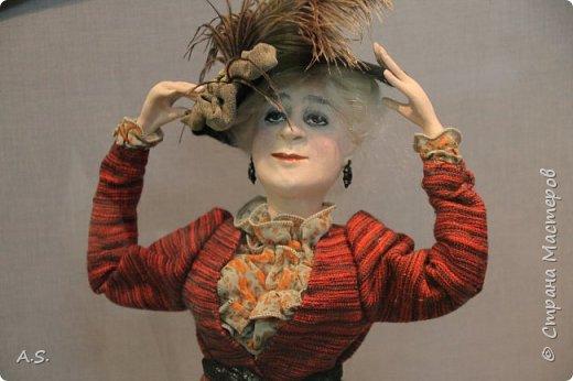 """Вчера в нашем Краеведческом музее открылась еще одна замечательная выставка  кукол, шаржи """"Фильм, фильм, фильм..."""" Куклы - артисты... Думаю, любого можно узнать без труда. Да и само открытие было замечательным: кадры из любимых фильмов, много интересных сведений о советском кинематографе ... и даже чай с блинами.   фото 17"""
