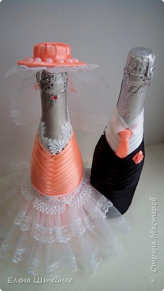 Персиковая свадьба фото 3