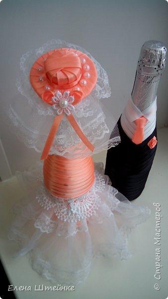 Персиковая свадьба фото 2
