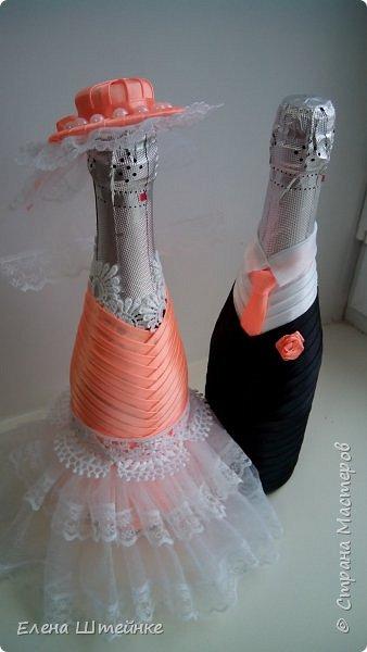 Персиковая свадьба фото 1