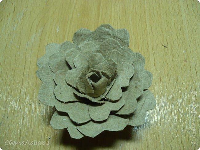 Доброе утро Страна! Покажу маленький МК по изготовлению цветка пиона., или циния. фото 7