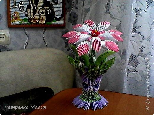 вазочка с цветочком
