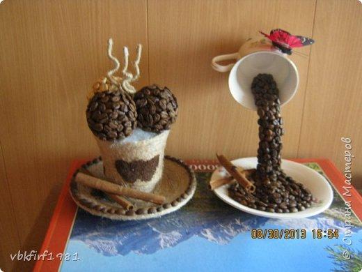 Картина из кофе. фото 4