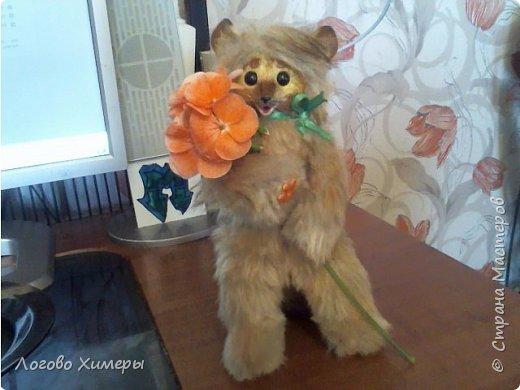 Котик Кокос) Был сделан на заказ) Подвижный каркас и шальная мордочка радуют своего маленького хозяина в городе Сургут фото 5