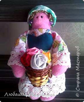 куколка тильда с зонтиком. фото 29