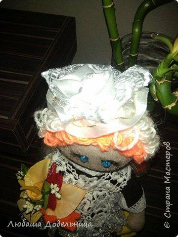 куколка тильда с зонтиком. фото 40