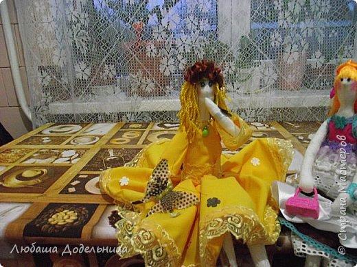 куколка тильда с зонтиком. фото 9