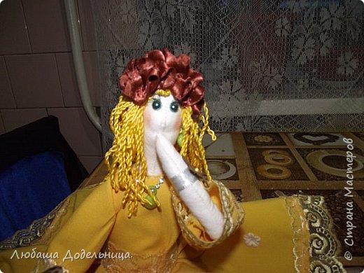 куколка тильда с зонтиком. фото 10