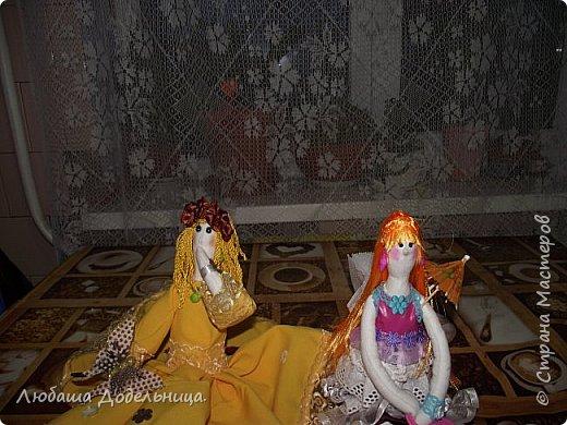 куколка тильда с зонтиком. фото 16