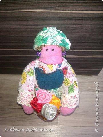 куколка тильда с зонтиком. фото 31