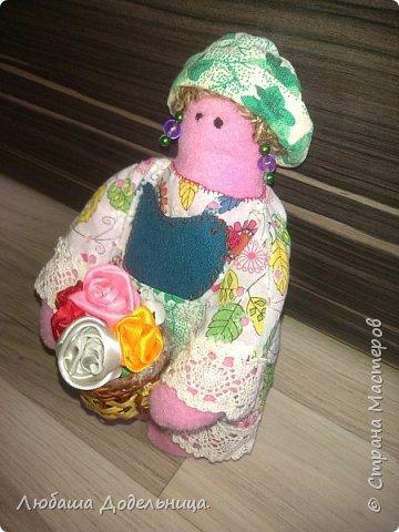 куколка тильда с зонтиком. фото 32