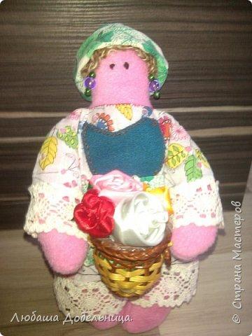 куколка тильда с зонтиком. фото 33