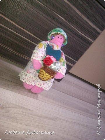 куколка тильда с зонтиком. фото 34