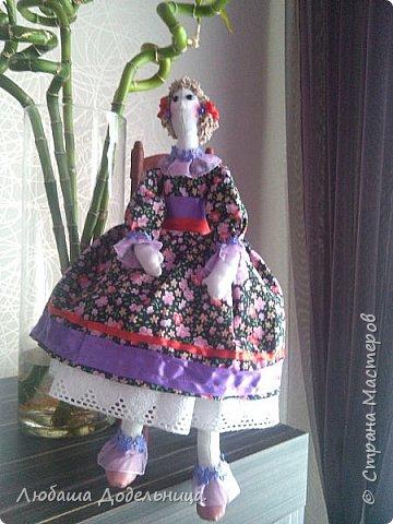 куколка тильда с зонтиком. фото 18