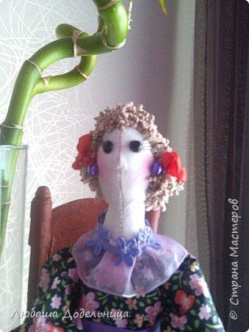 куколка тильда с зонтиком. фото 21