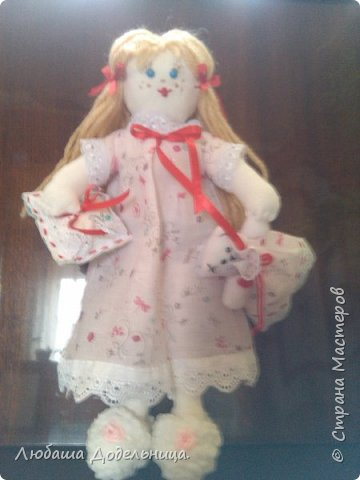 куколка тильда с зонтиком. фото 41
