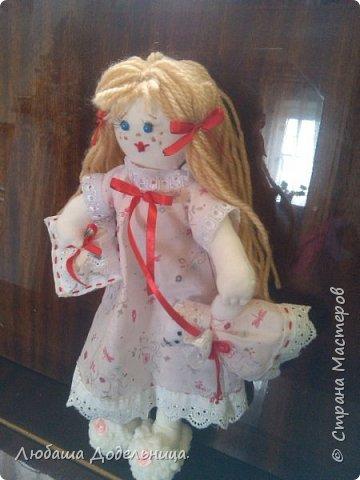 куколка тильда с зонтиком. фото 42