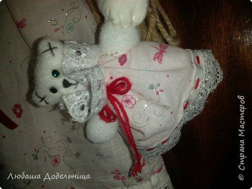 куколка тильда с зонтиком. фото 43