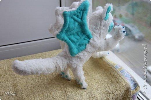 Долго я хотела сшить каркасную игрушку, и вот кто у меня получился. фото 7