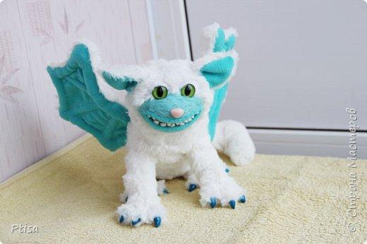 Долго я хотела сшить каркасную игрушку, и вот кто у меня получился. фото 2