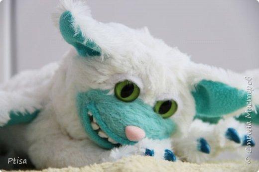 Долго я хотела сшить каркасную игрушку, и вот кто у меня получился. фото 3