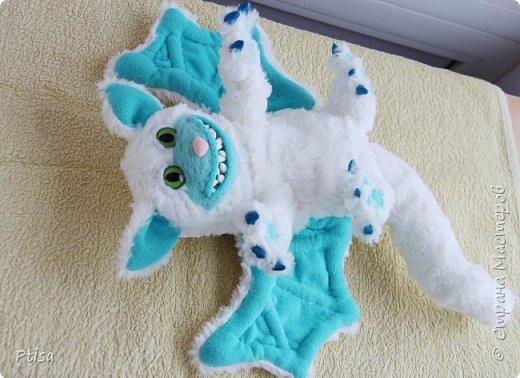 Долго я хотела сшить каркасную игрушку, и вот кто у меня получился. фото 4