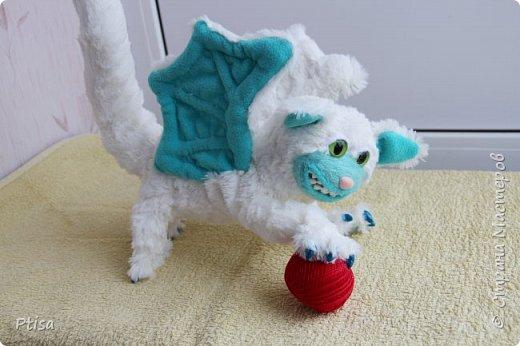 Долго я хотела сшить каркасную игрушку, и вот кто у меня получился. фото 6