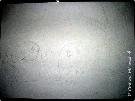 Предлагаю нарисовать вот таких осенних ежиков.  фото 2