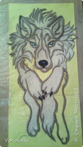 Салют мастера!! нужна ваша помащь  Сделал волка и розы из остатков фома, посоветуйте как еще можно Задекорировать панно. фото 4