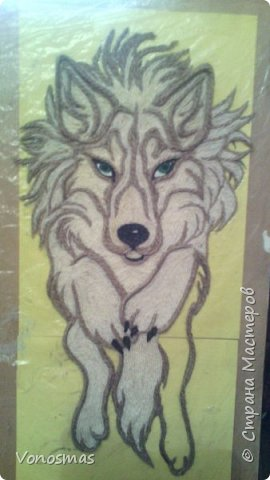 Салют мастера!! нужна ваша помащь  Сделал волка и розы из остатков фома, посоветуйте как еще можно Задекорировать панно. фото 5
