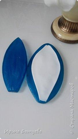 Добрый день, мои дорогие! В этом мастер-классе я покажу как сделать вот такую ветку белой лилии из холодного фарфора. В работе я использовала полимерную глину Modern clay blue (синяя этикетка). Это первая часть мастер-класса. Продолжение здесь: http://stranamasterov.ru/node/1055240#comment-14245298 фото 20