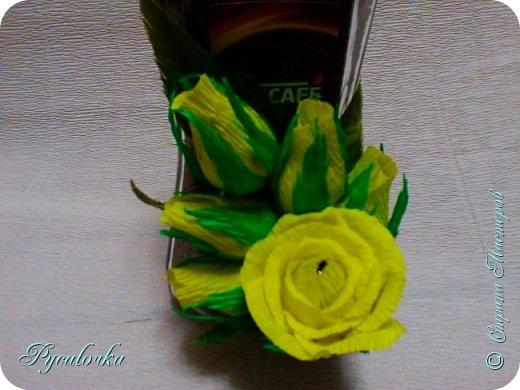 Здравствуйте! Сегодня хочу показать Вам свой свит-дизайн. На день учителя украшала кофе и коробку конфет. фото 3
