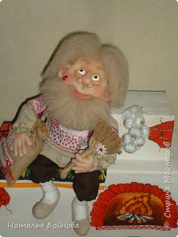 Скульптурно-текстильная кукла фото 6